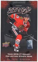 2016-17 UD MVP Hockey Box HOBBY (20 Packs)