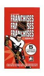 2004-05 ITG Franchises Hockey Cards Canadian Ed. (24 Packs)