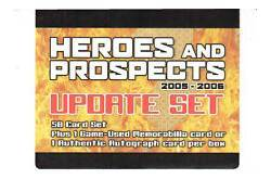 2005 06 ITG Heroes and Prospects Update Set