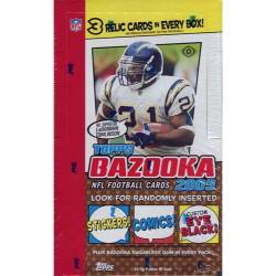 2005 NFL Topps Bazooka Box (24 Packs)