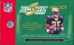 2006 NFL Score Select Box (20 Packs)