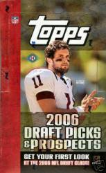 2006 Topps Draft Picks & Prospects Football (24 Packs)
