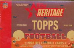2006 NFL Topps Heritage Box (24 Packs)