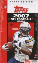 2007 Topps NFL Football Cards Box (36 Packs)