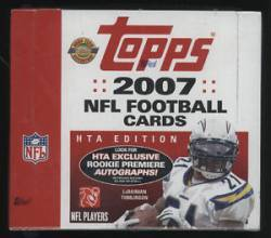 2007 NFL Topps Box (HTA Edition) (10 Packs)