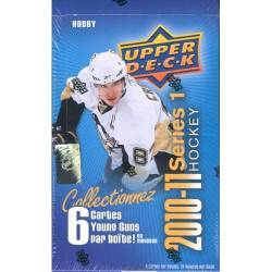 2010-11 Upper Deck Series 1 Hockey Box (24 Packs) FRENCH VER.