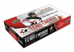 2019 UD Team Canada Juniors Hockey Box (15 Packs) NO ONLINE SALE