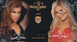 Bench Warmer 2009 (1 Pack/3 Cards) Ultimate Super Premium Cards
