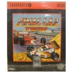 Final Lap Twin - Turbo Grafx 16 USED (no box)