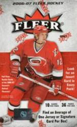 2006-07 Fleer Hockey Box (36 Packs)