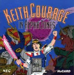 Keith Courage in Alpha Zones - Turbo Grafx 16 USED (boxed)