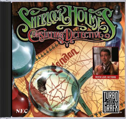 Sherlock Holmes Consulting Detective (Super CD) - TG-16 CD USED