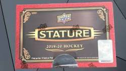 2019-20 UD Stature Hockey Box (1 Pack)