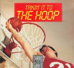 Takin' It To The Hoop - Turbo Grafx 16 USED