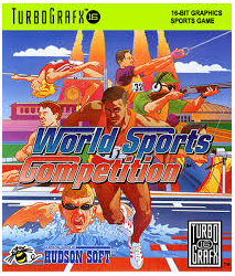 World Sports Competition (no case/box) - TG-16 USED